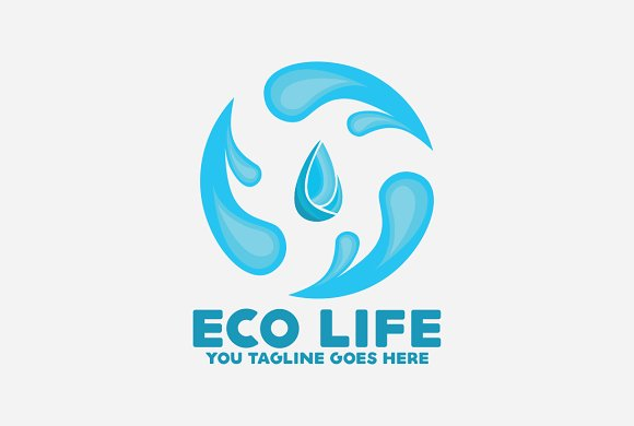 Eco Life Water Logo