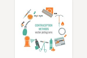 Contraception methods image