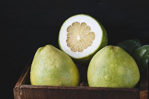 Pomelo fruits