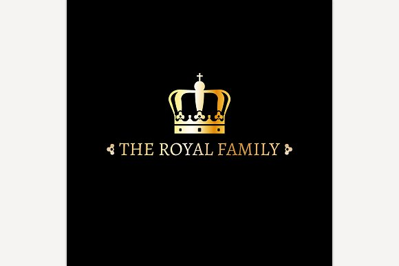 The Crown Logo Template