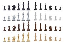 Chess Pieces set 59 items