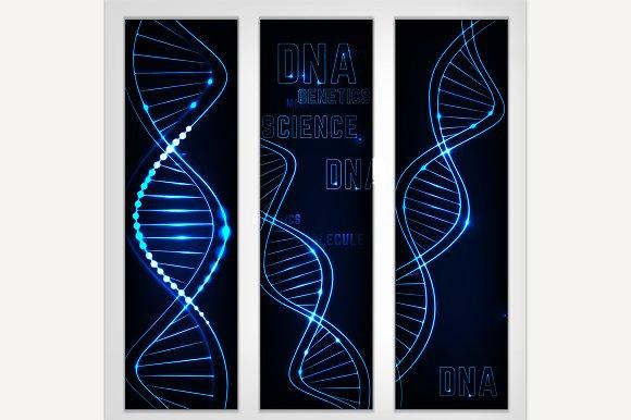 DNA Molecule Image Banners