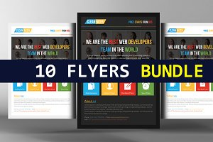 10 Multipurpose Business Flyers
