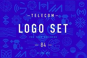 Telecom Logo set 1.