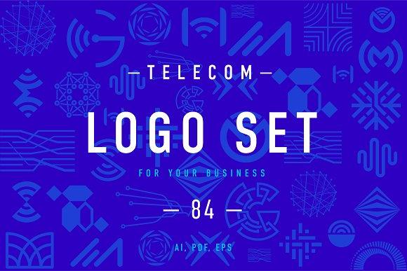 Telecom Logo Set 1