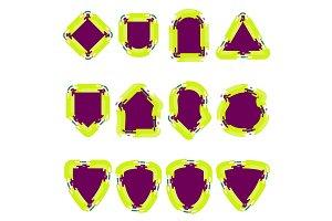 badge color set
