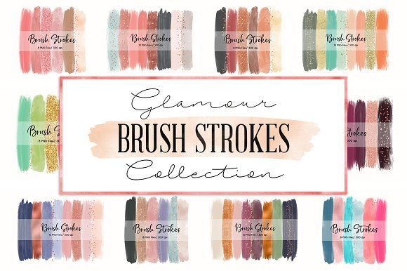 180 In 1 Brush Strokes Bundle