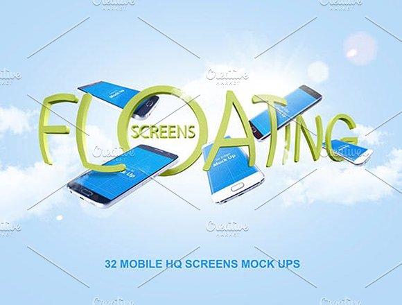 S6 S6 Edge Floating Screens