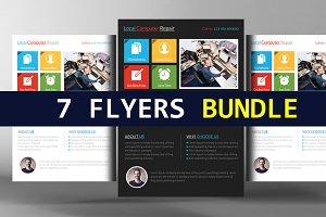 7 Business Flyers Bundle
