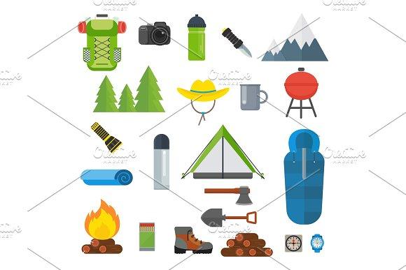 Tourist Equipment Set