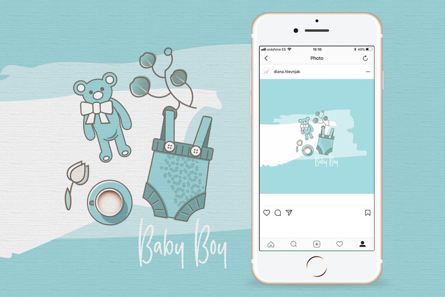 Baby Girl & Boy Icon Pack in Baby Icons - product preview 16