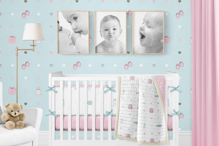 Baby Girl & Boy Icon Pack in Baby Icons - product preview 25