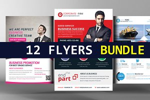 12 Agency Corporate Business Flyers