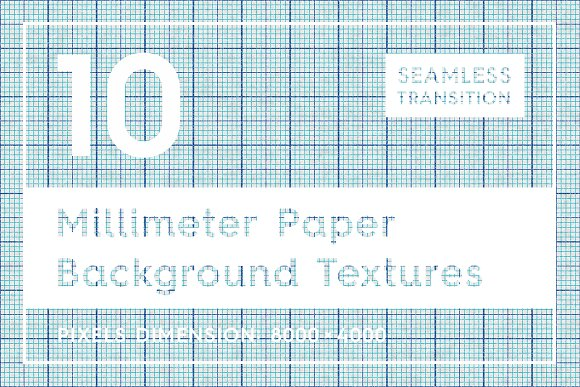 10 Millimeter Paper Textues