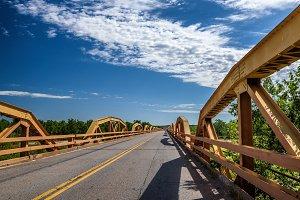 Pony Bridge on route 66 in Oklahoma