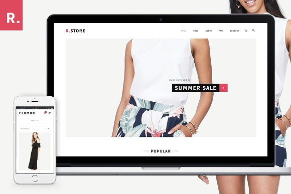 Rstore Clean WooCommerce WP Theme