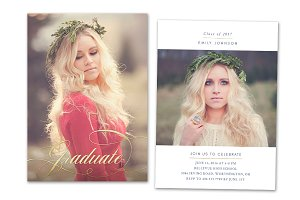 Graduation Card Template 2018 Senior