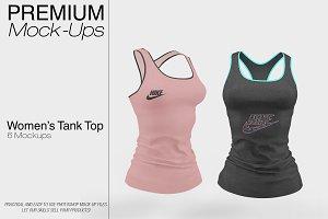 Women's Tank Top Mockup Pack