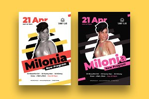 DJ Milonia Poster