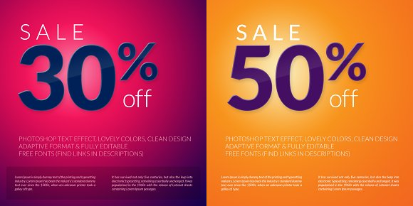 mall store flyer design graphic objects creative market