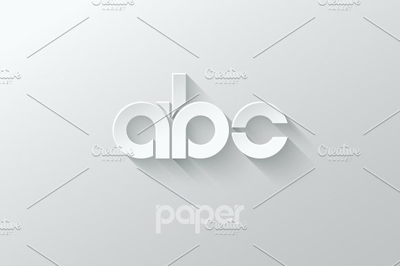 Letter A B C Logo Alphabet Icon