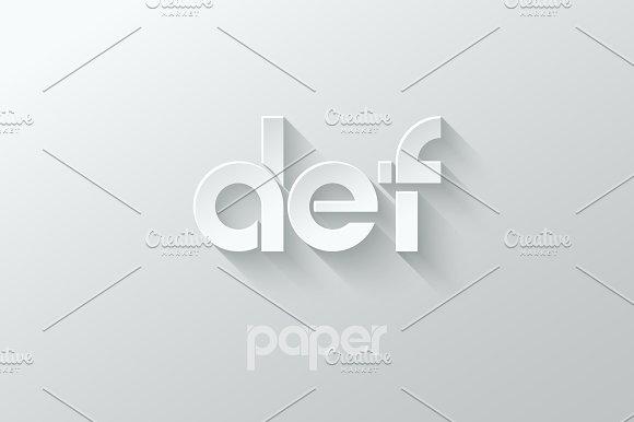 Letter D E F Logo Alphabet Icon