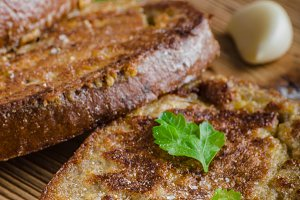 French garlic toast