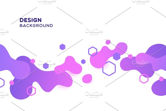 Abstract Wavy Spots Backgrounds