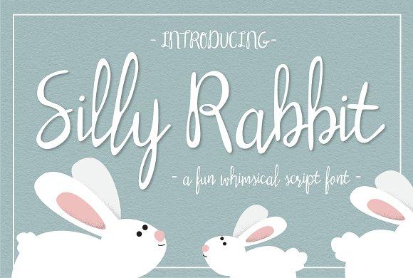 Silly Rabbit Script Font