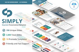 Simply Keynote Template