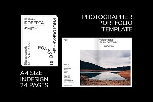 Portfolio Template / PHOTOGRAPHER