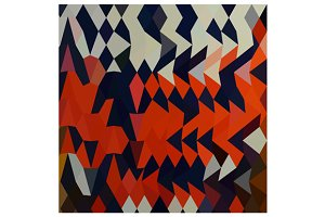 Harlequin Abstract Low Polygon Backg