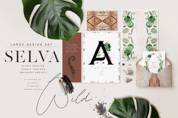 Selva -Jungle Greenery Project