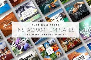 Platinum Posts - Instagram Templates
