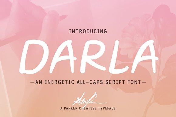 Darla Script Handwritten Font