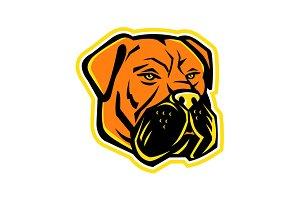 Bullmastiff Dog Mascot