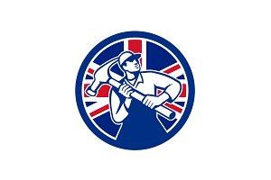 British Joiner Union Jack Flag Icon