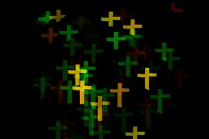 Easter abstract background