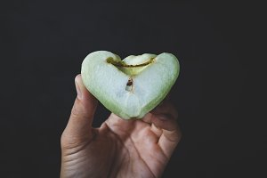 Green mountain apples