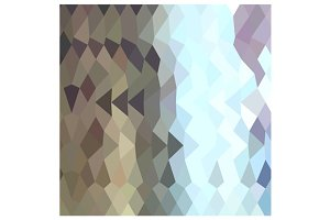 Taupe Abstract Low Polygon Backgroun