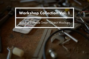 Workshop Collection Mockups Vol. 1