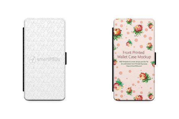 Galaxy S9 2d Wallet Case Mockup