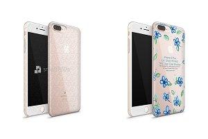 iPhone 8 Plus UV TPU Clear Case