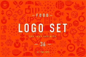 Food Logo set 2.