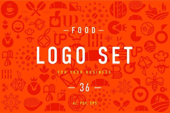 Food Logo Set 2