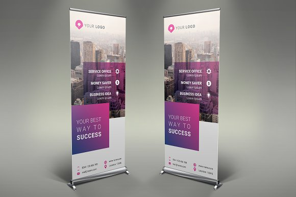 Business Roll Up Banner #109