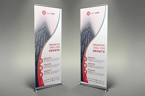 Business Roll Up Banner #112