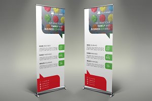 Insurance Roll Up Banner #113