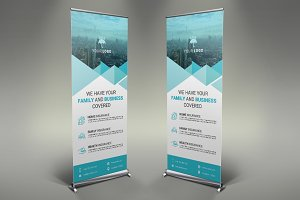 Insurance Roll Up Banner #116