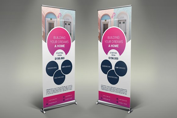 Real Estate Roll Up Banner #118